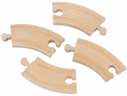 Short Curved Track - 4 pack - Maxim 50906