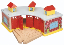 Roundhouse with 5 way switch track - Maxim 50946